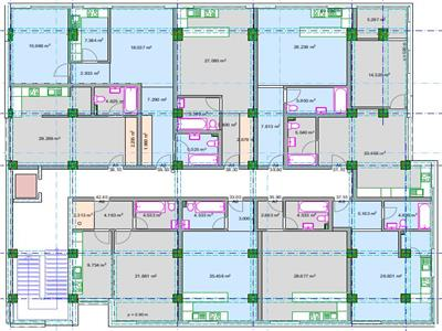 Apartament cu o camera open space Sos Pacurari